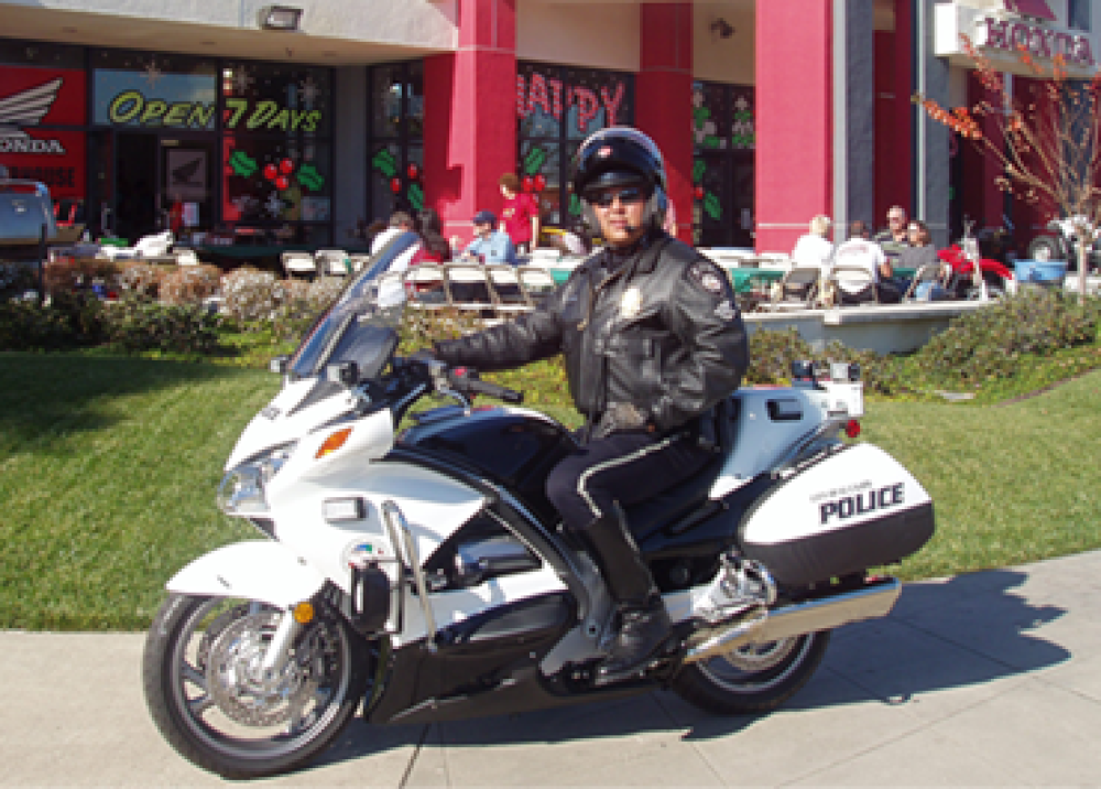 Local Police - Huntington Beach - HB Honda Motorcycles