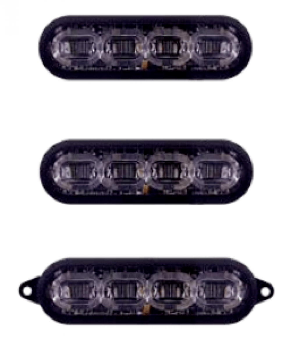 3-Inch Fascia Lights - Law Enforcement - HB Honda Motorcycle