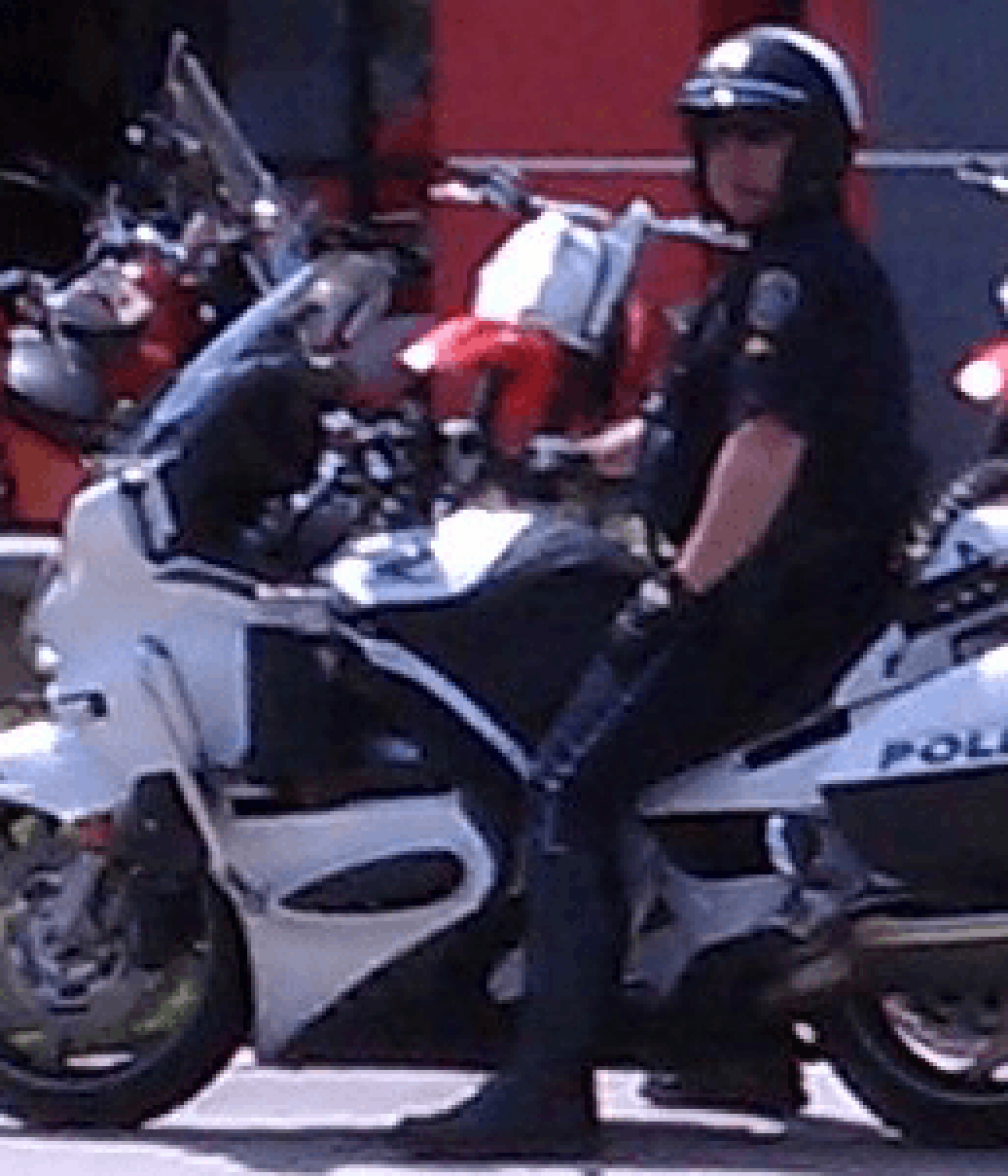 Tank Bra - Law Enforcement - HB Honda Motorcycles